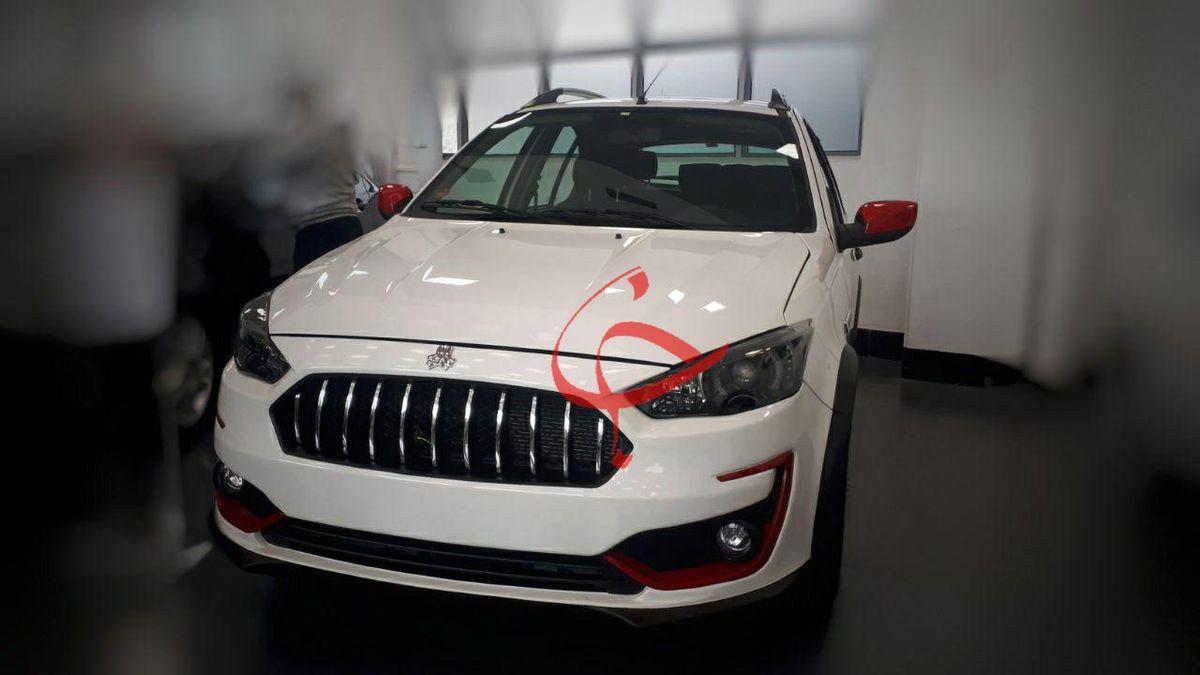 اولین تصویر از خودروی جدید سایپا لو رفت