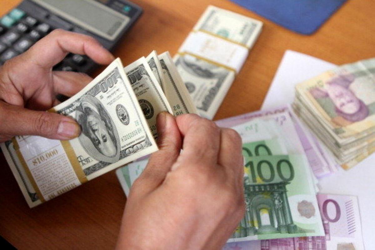 قیمت دلار و یورو امروز ۵ مهر ۹۹ + جدول
