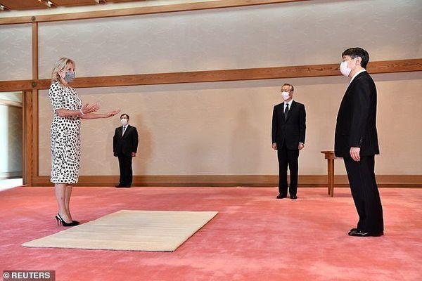 عکسهای دیدار همسر بایدن در ژاپن و شوخی رئیس جمهور آمریکا