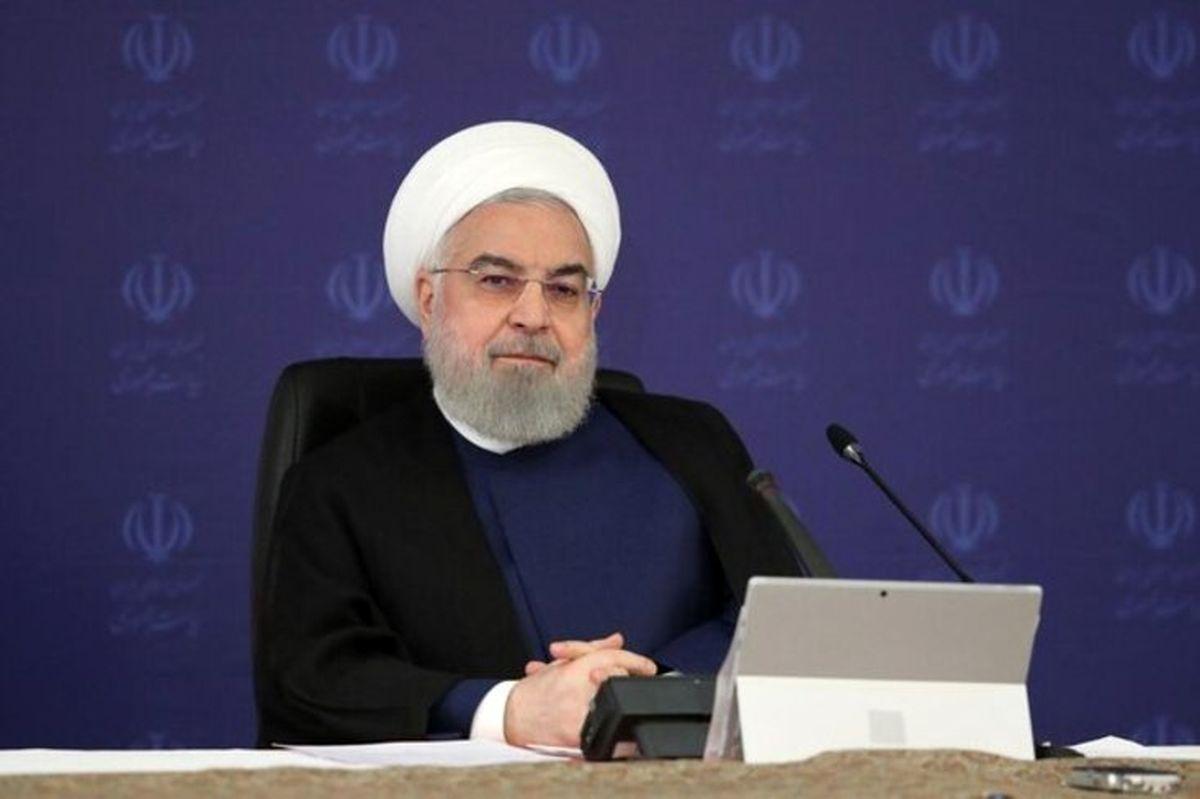 حرف های تکراری رئیس جمهور: آمریکا در نابسامانی اقتصادی ایران نقش دارد اما دولت نه