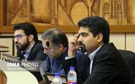 تصویری از اولین حضور رسمی «سپنتا نیکنام» در صحن علنی شورای اسلامی شهر یزد