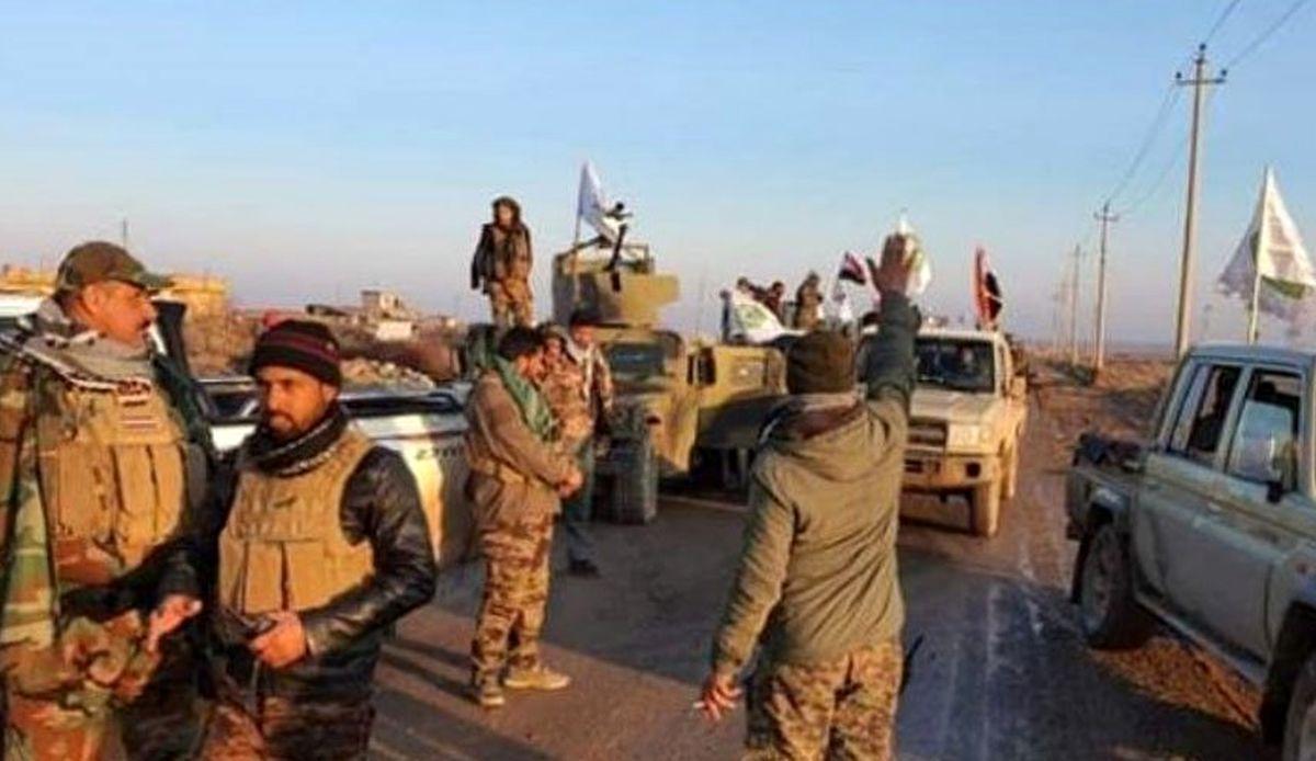 آغاز عملیات بسیج مردمی ؛  به دنبال بقایای داعش در سامارا باشید