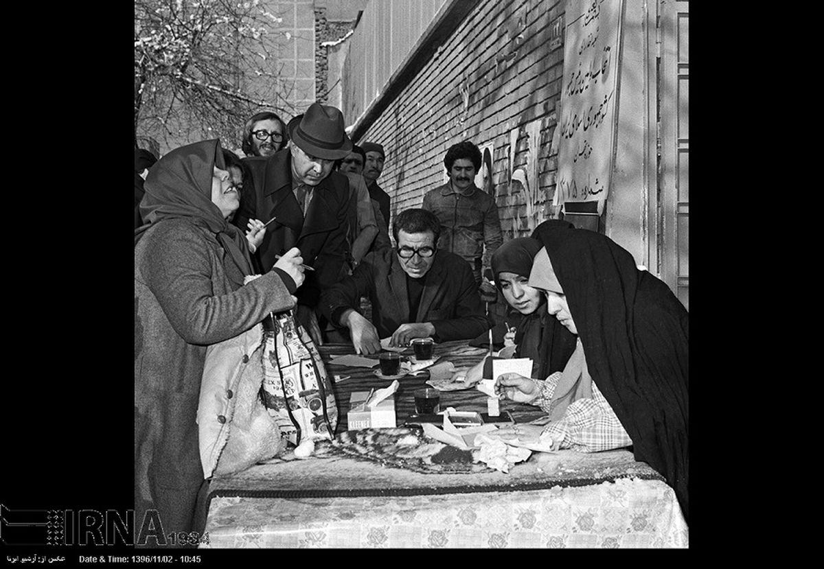 تصاویری از نخستین دوره انتخابات ریاست جمهوری در ایران