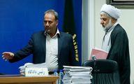 خروج قاضی مقیسه و قاضی غضنفرآبادی از دادگاه انقلاب + جزئیات