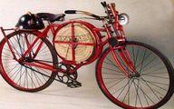 اولین وسیله نقلیه آتش نشانى 1905 میلادی