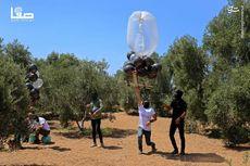 جدیدترین تصاویر آتش سوزی گسترده در اسرائیل با بالنهای انتقامی