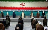 حاشیههای مراسم تنفیذ/ لاریجانی و سیدحسین خمینی بودند یا نه؟