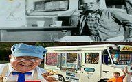 تصاویر باسابقه ترین بستنی فروش دنیا