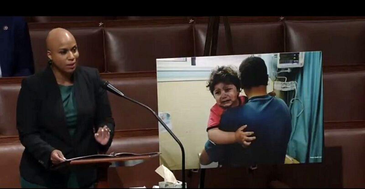 واکنش عضو مجلس آمریکا به اشغالگری اسرائیل:ساکت نمیمانیم