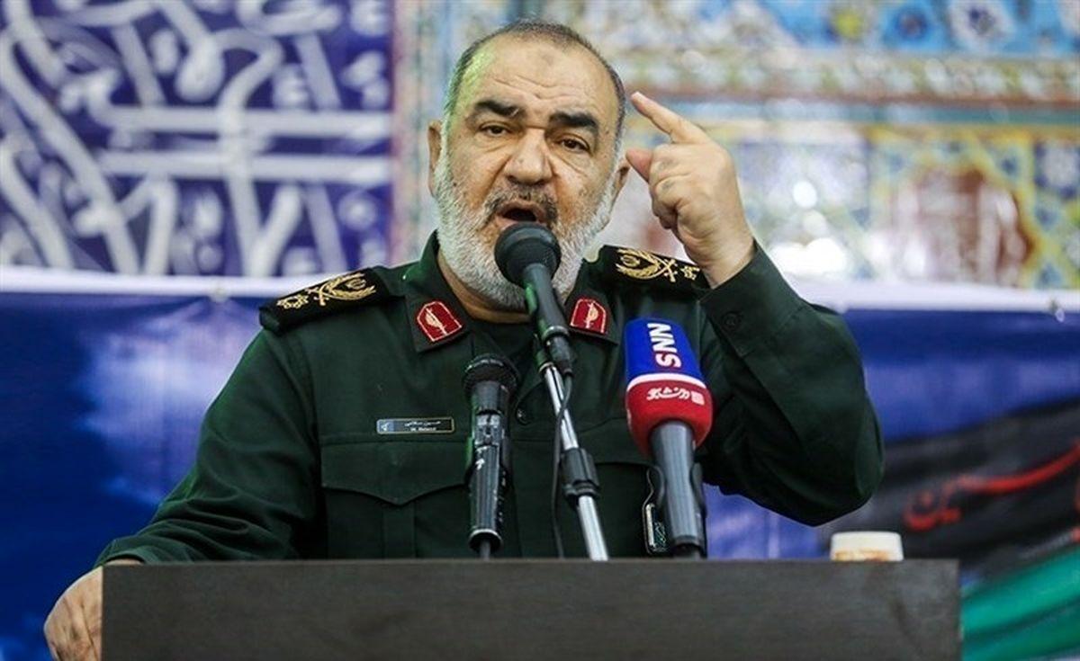 فرمانده سپاه:امنیت رژیم صهیونیستی با شکستی بی پایان مواجه شده است