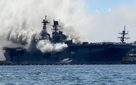 جزئیات جدید حادثه آتش سوزی در کشتی نظامی ایران