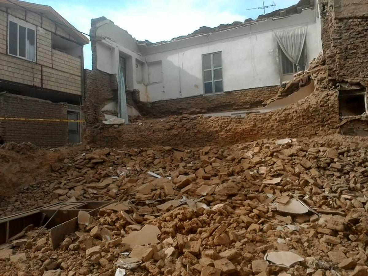 حادثه ریزش آوار در قم به مصدومیت چهار کارگر ساختمانی منجر شد