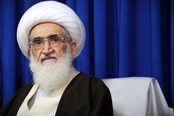 شرکت آیت الله نوری همدانی در انتخابات 1400 + عکس