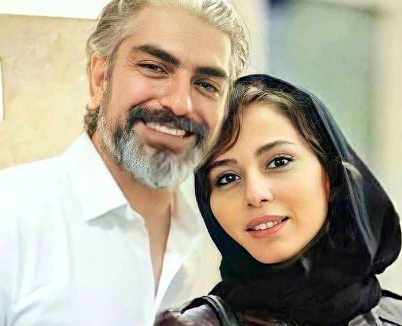 عکس های دونفره مهدی پاکدل و همسرش + داستان آشنایی این زوج