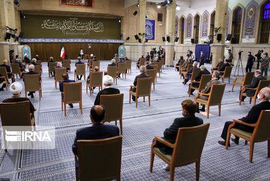 دیدار دولت و رهبری