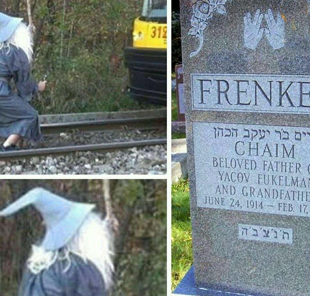 راز سنگ قبر مردی که ادعای توقف قطار با نگاه کردن را داشت