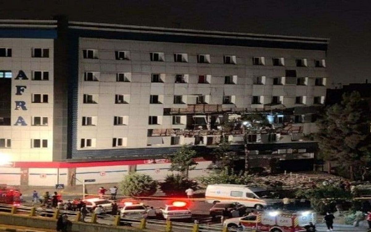 آخرین اخبار درباره انفجار در تهران + جزئیات جدید