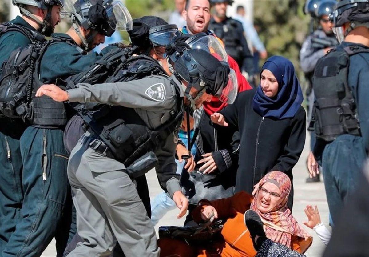 حمله وحشیانه صهیونیست ها به مسجد الاقصی