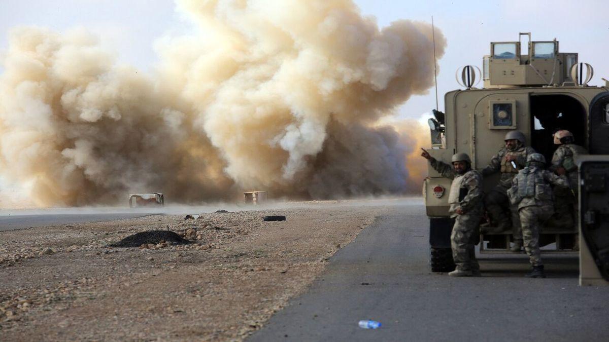 حمله به کاروان ائتلاف آمریکایی در بابل عراق