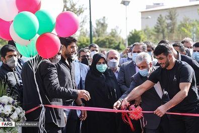 افتتاح کمپ تیمهای ملی کشتی