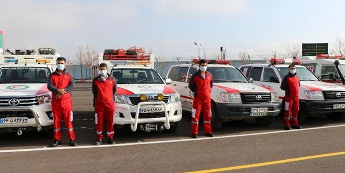 آماده باش هلال احمر در ۵ استان پس از زلزله تهران