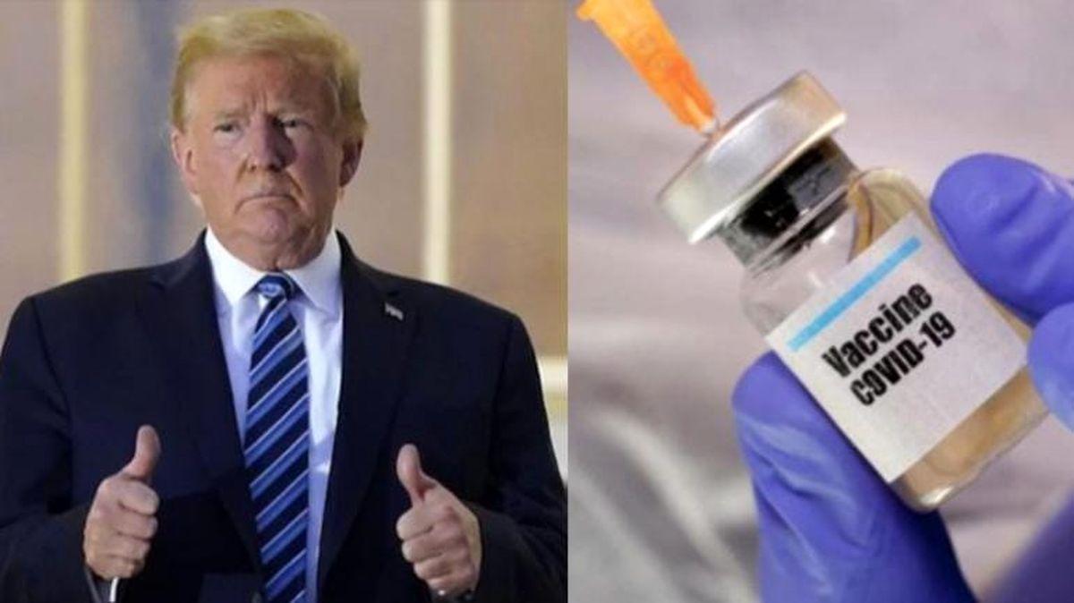 آتشبازی  طرفداران ترامپ علیه واکسن کرونا  / بایدن نگران است