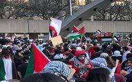 حمله پلیس آلمان به تجمع اعتراضی در حمایت از فلسطین