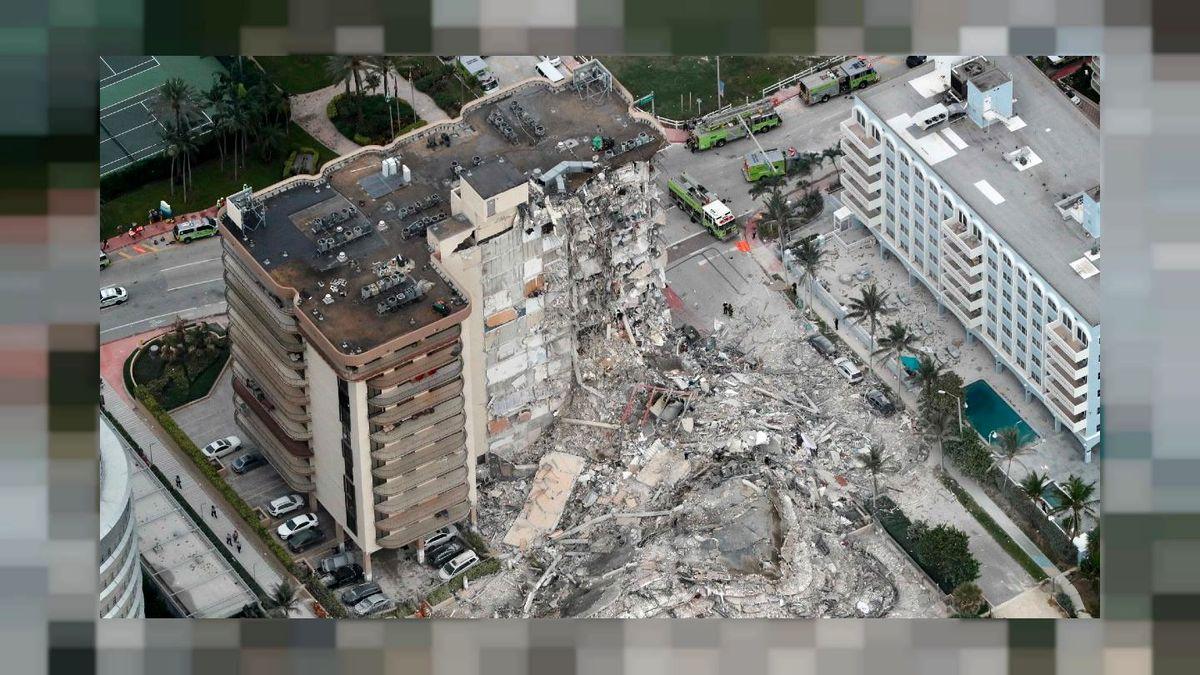 ۱۵۰ نفر در زیر آوار پس از گذشت ۵ روز از حادثه در آمریکا