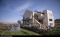 عکس/ تخریب ویلای غیرمجاز در فیروزکوه