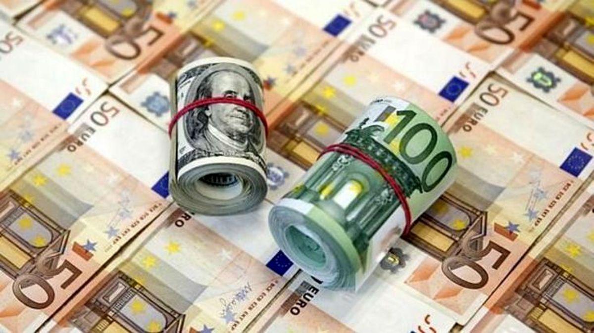 آخرین قیمت دلار و قیمت یورو امروز 3 فروردین در بازار