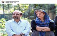 اصغر فرهادی و همسرش در سالگرد درگذشت عباس کیارستمی+عکس