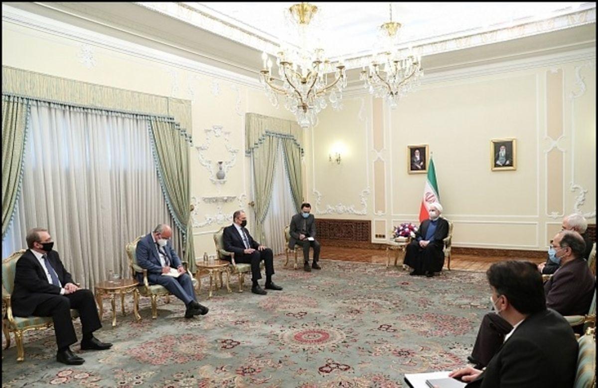 روایت ویژه معزی از دیدار لاوروف با رئیس جمهور