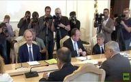 لاوروف و فرستاده ویژه سازمان ملل به سوریه در مسکو دیدار كردند