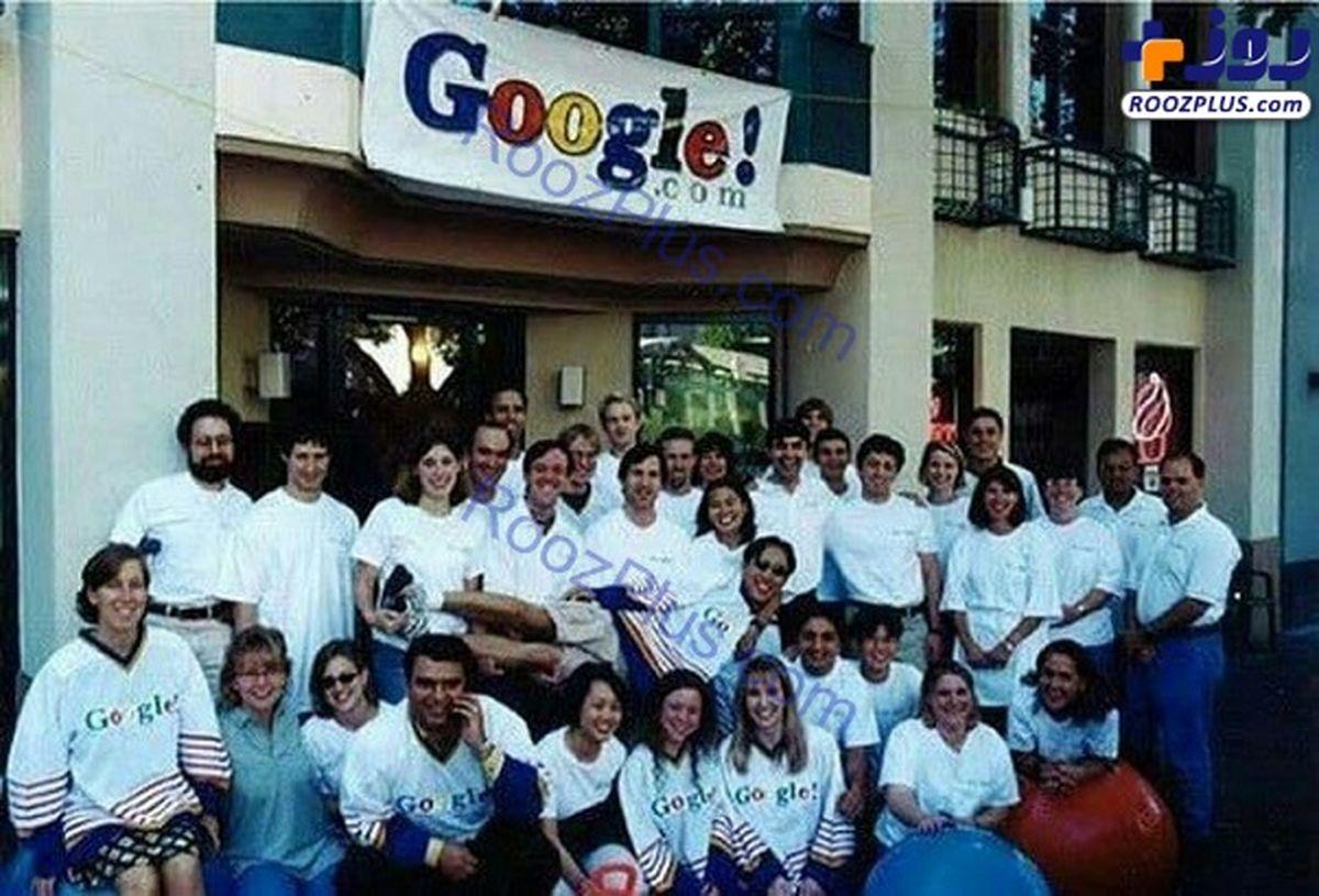 عکس قدیمی و دیده نشده از اولین تیم گوگل در سال ۱۹۹۹