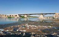 روایت تصویری از مرگ تدریجی رودخانه دز زیر انبوه جلبک و خزه
