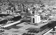 عکس هوایی از مقبره رضا خان را ببینید