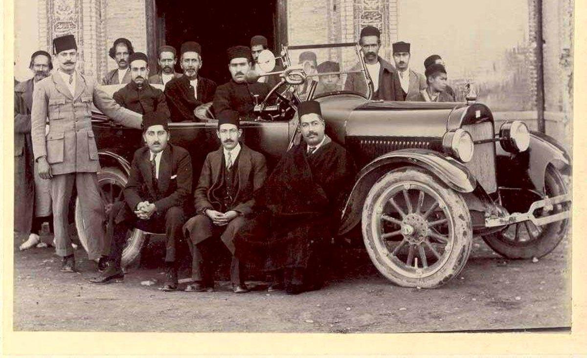 اولین اتومبیل خریداری شده در ایران +عکس