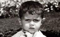 ژست جالب بشار اسد در کودکی!