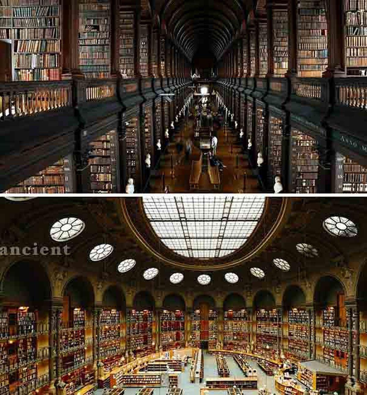 بزرگترین کتابخانه جهان با حدود 150 میلیون جلد کتاب