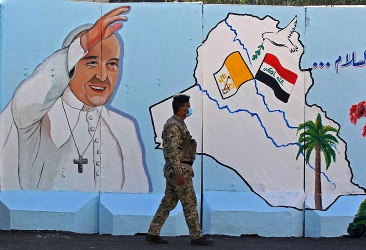 حاشیه های جنجالی سفر پاپ به عراق