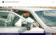 تصویری منتشر نشده از یادگار امام