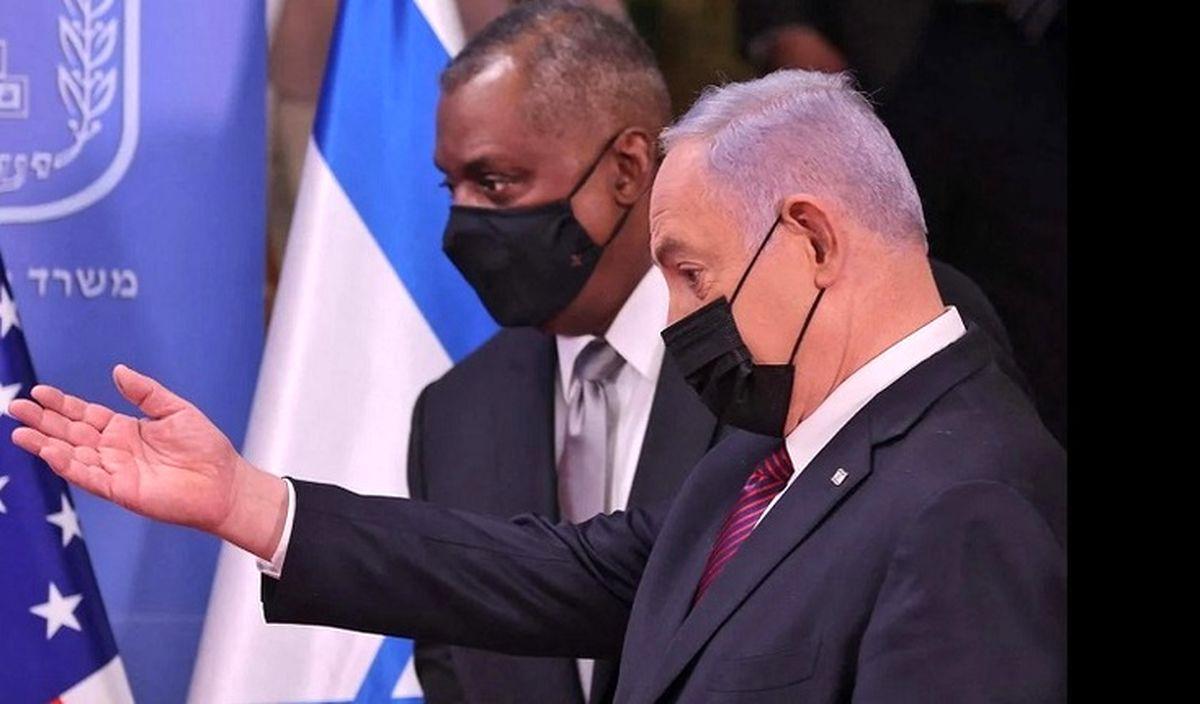 اختلافات بایدن و نتانیاهو بر سر ایران/ آنچه با سفر وزیر دفاع آمریکا به تل آویو فاش شد