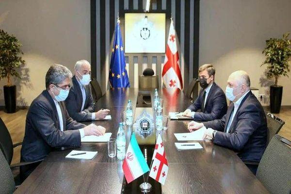 دیدار سفیر ایران  و رییس سرویس امنیت دولتی گرجستان