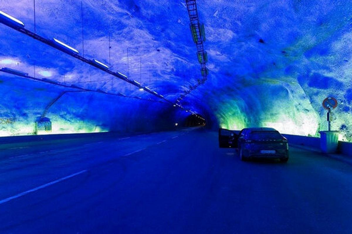 طولانیترین و عمیقترین جاده تونلی جهان