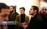 عکس / سید احمد خمینی در چهارمین روز جشنواره فیلم فجر