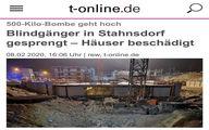 انفجار بمب ٥٠٠ كيلویی در آلمان! + عکس و جزئیات