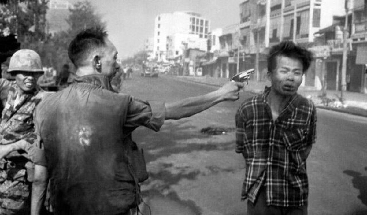 عکسی مخفی دیده نشده  از صحنه اعدام که جهان را تکان داد
