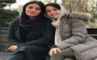 لیندا کیانی و خانم بازیگر در یک قاب + عکس