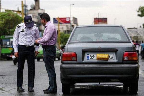 هشدار؛ برخورد شدید پلیس راهور با متخلفین پلاکی