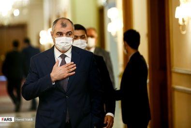 نشست روسای نمایندگی های سیاسی خارجی مقیم تهران با وزیر امور خارجه
